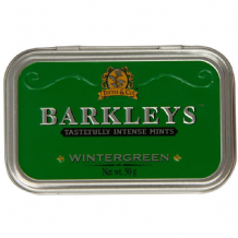 Barkleys Wintergreen Mints Tin 50g